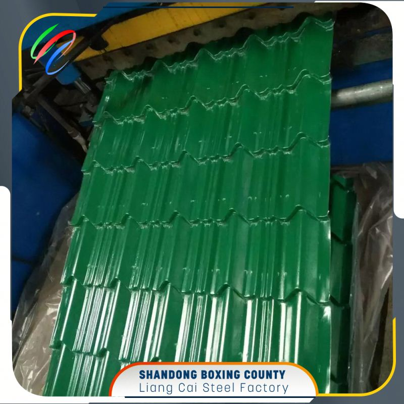 Wave steel roofing color steel sheet ppgi coil