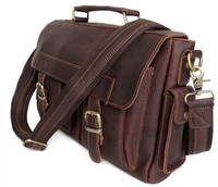 China Suppliers Excellent Quality Briefcase Leather Handbags For Men Messenger Bags 6037
