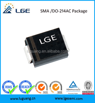 600W SMA6J18A Surface Mounted Transient Voltage Suppression diodes