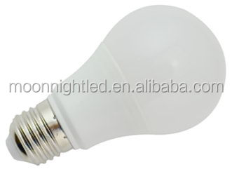 Cost price Super Quality 7W color led light bulbs
