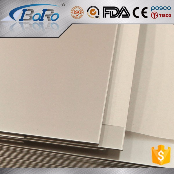 304/321/316L high quality grades 1.5mm thick stainless steel plate