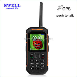 custom waterproof cell phone case Phone Runbo X6 IP67 Waterproof gps walkie talkie anti-shock elder mobile phone