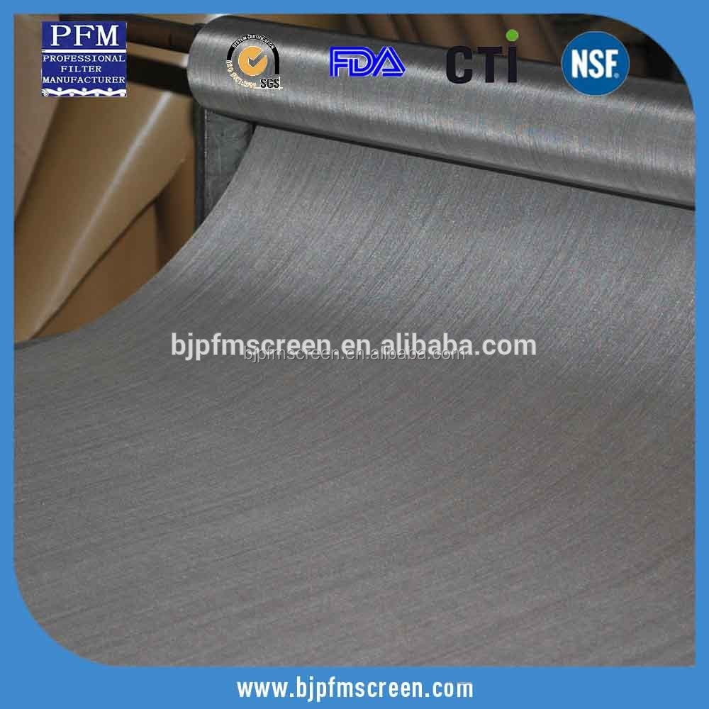 200 Mesh 28 Micron Dia. Ultra Fine Stainless Steel Woven Fabric
