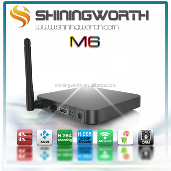 Shiningworth KODI DRM S905s quad core android quad core tv box