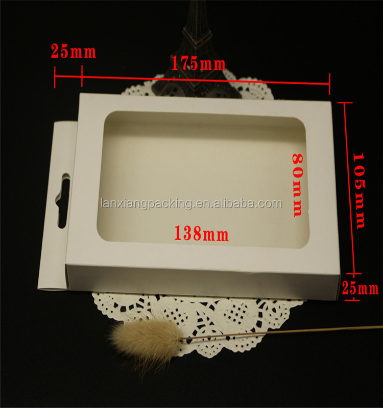 Wholesale Mobile Phone Cover Case,Craft Paper Eco Phone Package Box Window