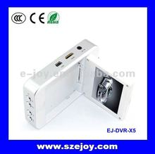 Portable Car 720p Double Camera DVR X5