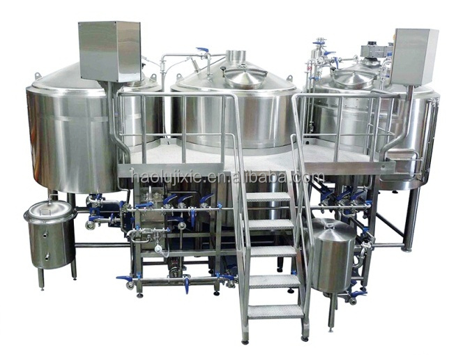 Home Brewing Commercial Beer Brewery Equipment 2000 Liter Brewhouse 20BBL Fermenter