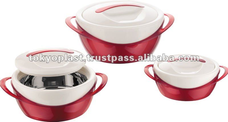 thermal containers,thermal food container 3 pcs set