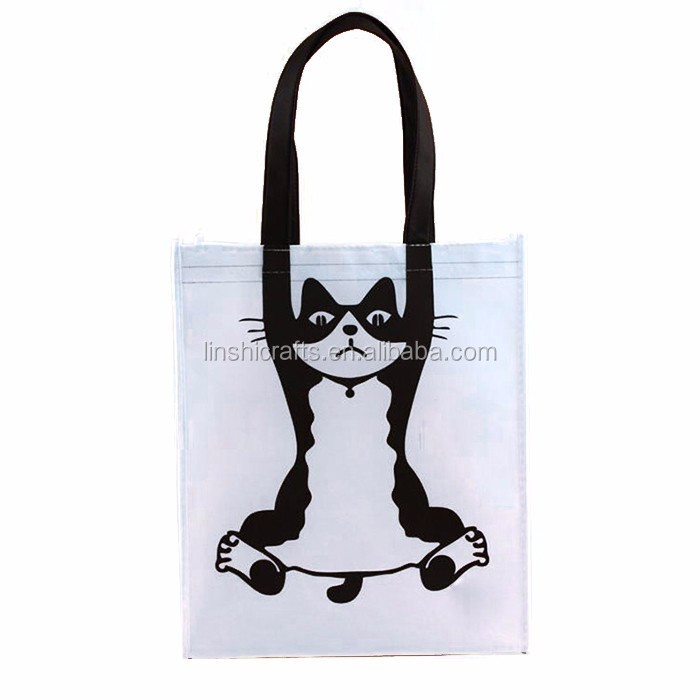 Promotional cheap custom ladies non woven bags