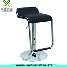 Simple Design Outdoor PVC Bar Stools Bar Chair With Footrest