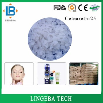 Alibaba Best Sellers White Flake Ceteareth-25