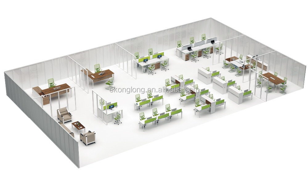 china office furniture counter workstation modern office