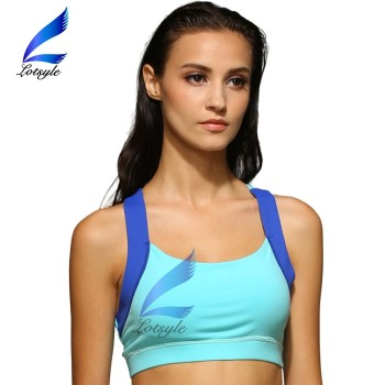 Young Girls Backcross Full Cup Padding Wholesale Sports Bra