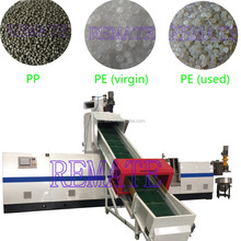 Top quality PE PP PET plastic pellet making machine for raw material