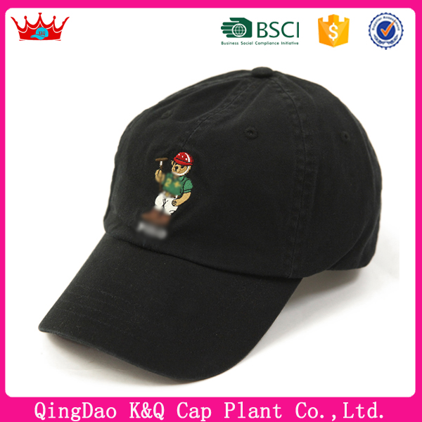 Unisex man women high quality unique embroidered polo baseball hat