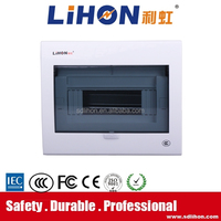 6 way iron low voltage distribution board for home / hotel / project