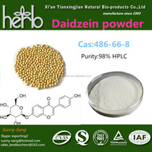 herbal anti cancer product soybean extract 98% Daidzein
