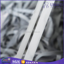 Factory produce flat white rubber band for swimwear