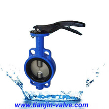 "50NB or 2"" CI Butterfly Valve 'Intervalve' PN 16 Hand lever Operated"