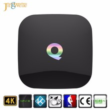 2017 High Quality Q-BOX 2GB 16GB Amlogic S905x Quad Core Andorid6.0 Q BOX TV BOX BT4.0