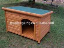 Classic and Insulated Wooden Dog kennel