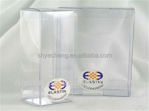eco friendly pvc disposable clear plastic crayon box wholesale manufacturer and exporter