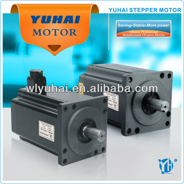 150mm big torque 60N.m three phase electrical waterproof stepper motor with gearbox