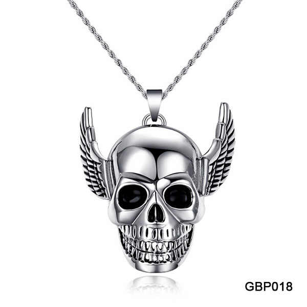Stainless Steel Gothic Jewelry Supplies Cheap Mens Necklace Steampunk Jewelry Wholesale