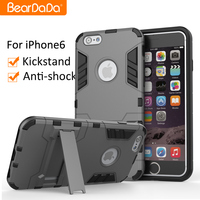 New Shock Scratch Resistant Clear bumper case for iphone 6 plus