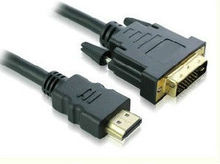 2m DVI to HDMI Cable Connect Computer PC Laptop to TV DVD