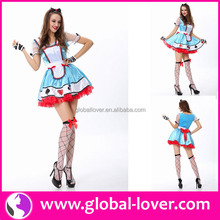 Top selling sexy ladies alice in wonderland costume