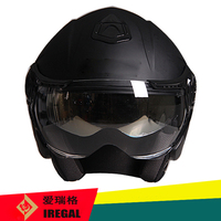 Open face motorcycle helmet ece r22.05 with high quality