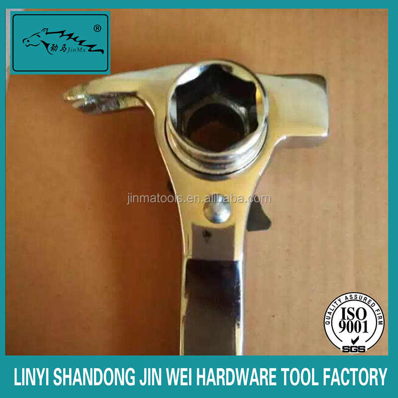 New design adjustable wrench speed ratchet wrench spanner hammer wrench