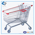 Oval tubing shopping basket with large volume