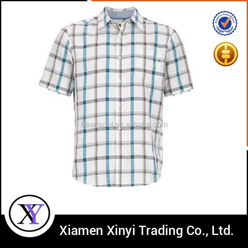 Hot Hot New Fashion Latest Design plaid branded low price casual shirts