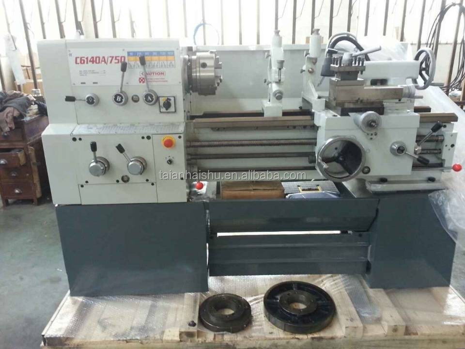 High Precision Manual Engine mini lathe machine price C6140A lathe with digital display