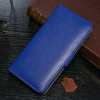 2015 China Manufacutre Cheap Mobile Phone Case For iphone6 4.7 Premium 100% Top Leather Wallet Cardslots/Flip Case Cover