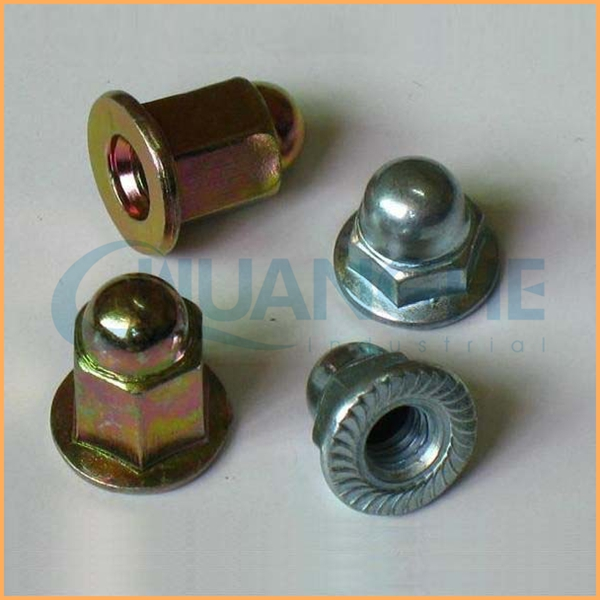 Factory supply brass low crown acorn nut