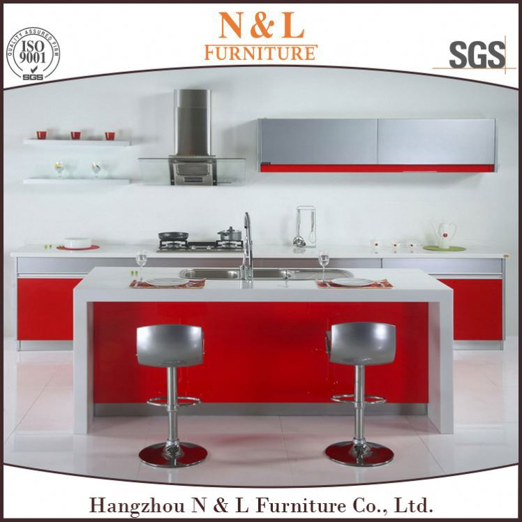 2016 Direct factory made mini kitchenette used stainless steel kitchen cabinet