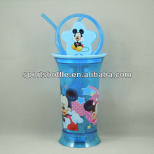 promotional USA standard passed plastic water bottle
