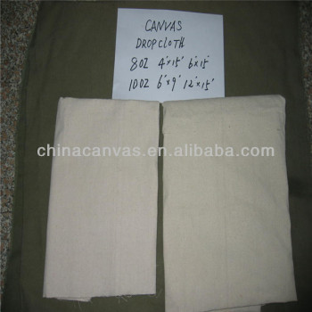 Canvas Drop Cloth cotton canavs drop cloth