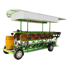 Easy Travel Quadricycle Electric Beer Bike for Sale