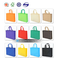 New design and fashion design pp nonwoven bag for food