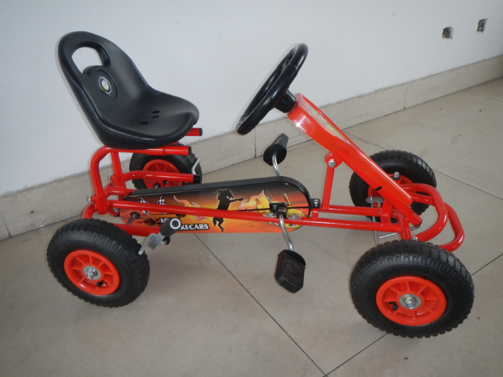 berg kids pedal go kart age 2-8 F90A with CE