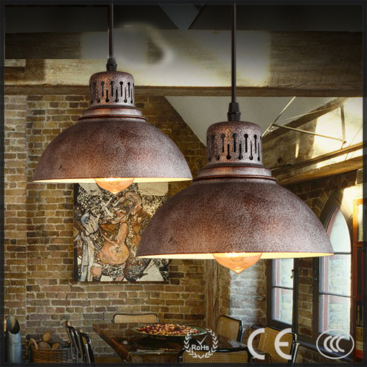 American Vintage Industrial Iron pot shape for bar/coffee shop/restaurant pendant lamp/light