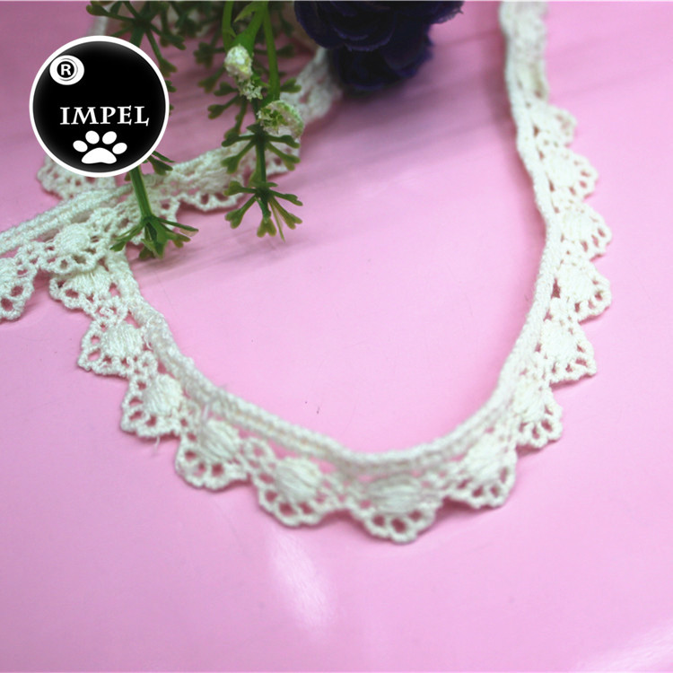 cotton eyelet lace trim,white lace trims 26137