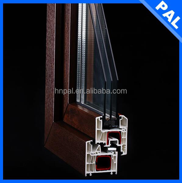 Heat insulation window casement stay With triple glass