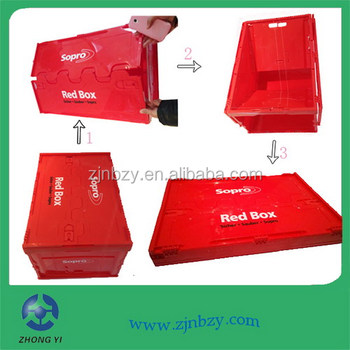 2018 hot Foldable Security Crate