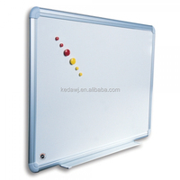 Magnetic classroom writing white board standard size