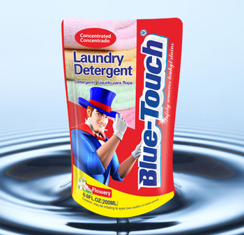 Bright White Liquid Laundry Detergent for automatic washing machine